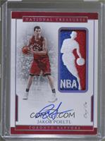 Rookie Patch Autographs Logoman - Jakob Poeltl /1