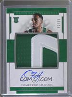 Rookie Patch Autographs - Demetrius Jackson /99