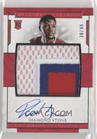 Rookie Patch Autographs - Diamond Stone [Noted] #/99