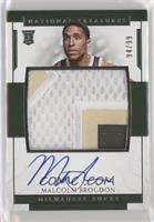 Rookie Patch Autographs - Malcolm Brogdon #/99
