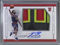 Rookie Patch Autographs Horizontal - DeAndre' Bembry /49