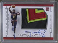 Rookie Patch Autographs Horizontal - Taurean Prince /49