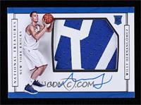 Rookie Patch Autographs Horizontal - Willy Hernangomez #/49