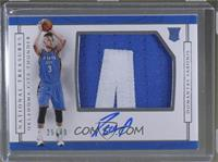Rookie Patch Autographs Horizontal - Domantas Sabonis #/49