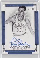 Larry Brown #/49