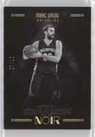 Black and White - Marc Gasol #/10