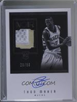Rookie Patch Autographs Black and White - Thon Maker #/99