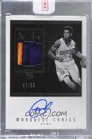 Rookie Patch Autographs Black and White - Marquese Chriss [Uncirculated] #/99