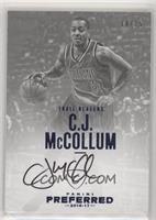 Autographs - C.J. McCollum #/15