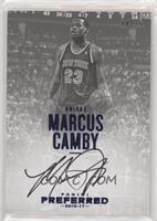 Autographs - Marcus Camby /25