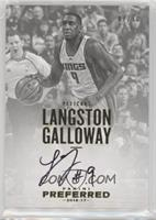 Autographs - Langston Galloway #/10