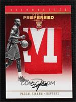 Silhouettes Rookies Prime - Pascal Siakam [Noted] #/25