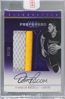Silhouettes Prime - D'Angelo Russell [Uncirculated] #/10