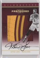 Silhouettes Prime - Kevin Love #/10