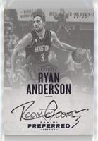 Autographs - Ryan Anderson #22/25