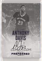 Autographs - Anthony Davis #/25