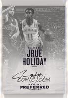 Autographs - Jrue Holiday #/25