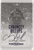 Autographs - Chauncey Billups #/25