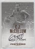 Autographs - C.J. McCollum #/35