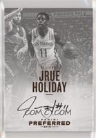 Autographs - Jrue Holiday #32/35