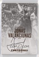 Autographs - Jonas Valanciunas #/35