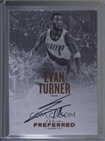 Autographs - Evan Turner #/35