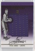 Silhouettes Rookies - Ivica Zubac #/99