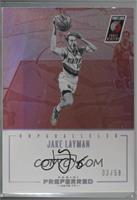 Unparalleled - Jake Layman #33/50