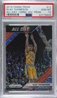 Klay Thompson [PSA 10 GEM MT] #/25