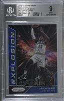 LeBron James [BGS 9 MINT] #/99