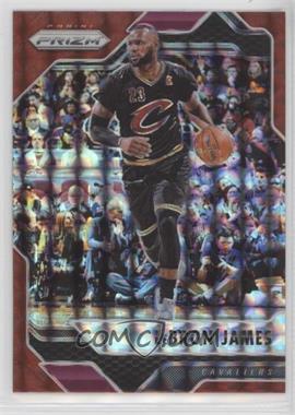 2016-17 Panini Prizm Mosaic - [Base] - Red #64 - LeBron James