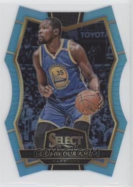 2016-17 Panini Select - [Base] - Blue Prizm #116 - Premier Level Die-Cut - Kevin Durant /199