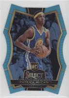 Premier Level Die-Cut - Patrick McCaw /199