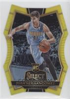 Premier Level Die-Cut - Juan Hernangomez #/75