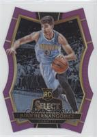 Premier Level Die-Cut - Juan Hernangomez #/99