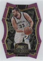 Premier Level Die-Cut - Marc Gasol #/99