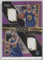 Klay Thompson, Stephen Curry /99