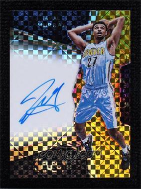 2016-17 Panini Select - Rookie Signatures - Gold Prizm #5 - Jamal Murray /10