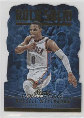 2016-17 Panini Studio - Rock Solid #RS-RW - Russell Westbrook