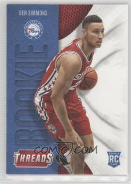 2016-17 Panini Threads - [Base] #209 - Leather Rookies - Ben Simmons