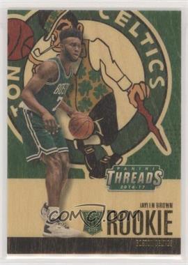 2016-17 Panini Threads - [Base] #246 - Wood Rookies - Jaylen Brown