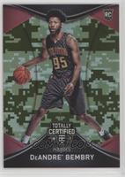 Rookies - DeAndre' Bembry /25