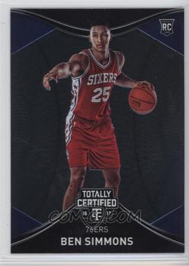 2016-17 Panini Totally Certified - [Base] #140 - Rookies - Ben Simmons