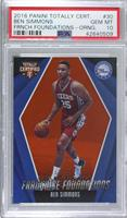 Ben Simmons [PSA 10 GEM MT] #/60