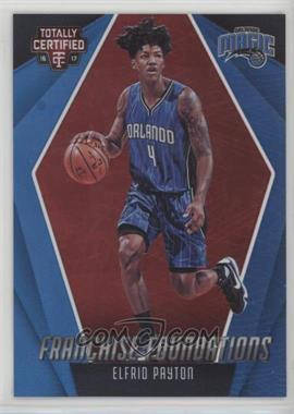 2016-17 Panini Totally Certified - Franchise Foundations - Red #26 - Elfrid Payton /199