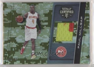 2016-17 Panini Totally Certified - Totally Certified Materials - Camo #9 - Paul Millsap /25