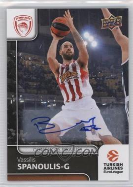 2016-17 Upper Deck Euroleague - [Base] - Autographs [Autographed] #8 - Vassilis Spanoulis