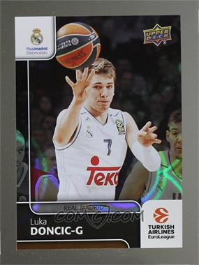 2016-17 Upper Deck Euroleague - [Base] - Patterned Rainbow #23 - Luka Doncic