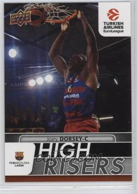 2016-17 Upper Deck Euroleague - High Risers #HR11 - Joey Dorsey