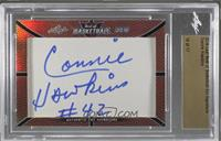 Connie Hawkins /17 [Cut Signature]